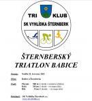 Šternberský triatlon Babice 1