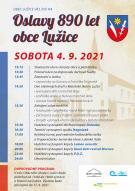 Oslavy 890 let obce Lužice 1
