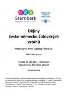 Přednáška: Dějiny česko-německo-židovských vztahů 1