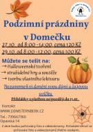 Podzimní prázdniny v Domečku 1